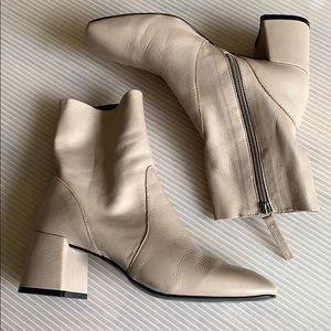 Top shop nude ankle boots